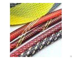 Electrical Pet Expandable Braided Sleeving Network Sheath For Wire Protection