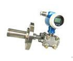 Stainless Steel Raised Face Flange Capillary Smart Pressure Level Transmitter With 4 20ma Hart Outpu
