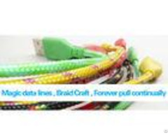 Pure Pp Yarn Cotton Braided Sleeving Custom Color For Cable Wire Protection