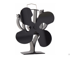 Mabuchi Motor High Airflow Heat Powered Wood Burning Stove Fan