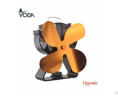 For Wood Gas Pellet Stoves Eco Friendly Heat Powered Stove Fan