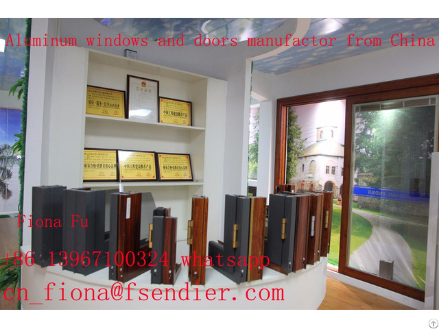 Low E Aluminium Tilt And Turn Casement Windows Vertical Horizontal Opening China