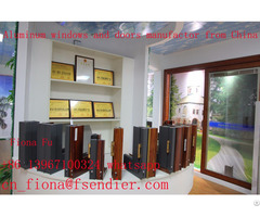 Low E Aluminium Tilt And Turn Casement Windows Vertical Horizontal Opening China