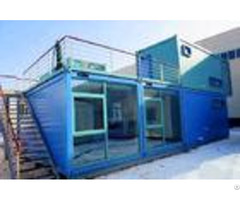 Customized Self Regulating Prefab Commercial Buildings Anti Earthquake With Bathroom