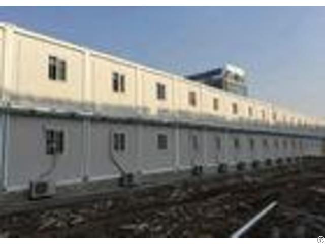Temporary Custom Container House Environment Friendly Aluminum Frame Door