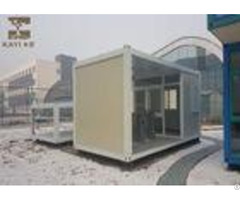 Glass Wool Panels Prefabricated Container Homes Sturdy Durable With Cement Board Floor