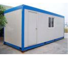Original Portable Container House Galvanized Steel 6000mm 2438mm 2640mm