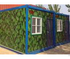 Flexible Exquisite Mobile Container Homes Kids Small Moving Containers With Decoration