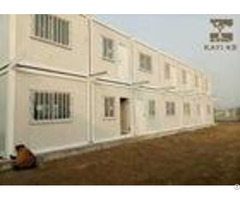 Labor Quarters Pre Built Container Homes Customized Color With Bathroom And Kitchen