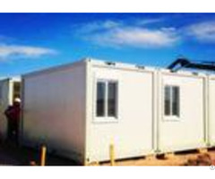 Exquisite Simple Moving Container Homes Anti Seismic With Laser Cut Screen