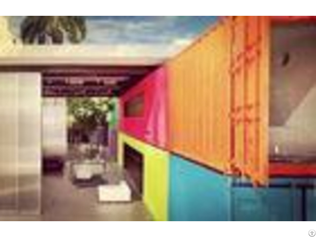 Durable Economical Flat Pack Shipping Container Home Removable Assemble Easily
