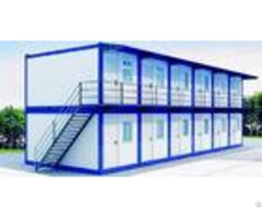 Double Deck Custom Shipping Container Homes Flexible Assembly For School Dormitory