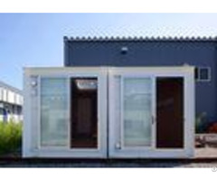 Polylaminate Portable Storage Containers Aluminum Alloy Door For Poor Region School