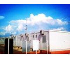 Elegant Clean Custom Built Container Homes Color Steel Frame Upvc Sliding Window