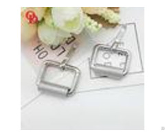 Bag Silver Small Metal Belt Buckle With Inner Length 19mm Width 16mm