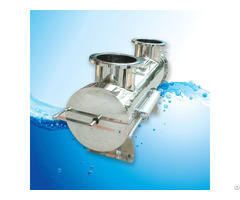 Ultraviolet Water Sterilization With Pneumatic Cleaning System