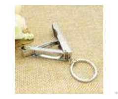 Foldable Hand Toe Metal Souvenir Stainless Steel Nail Clippers Rohs Sgs Approved