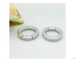 Nickel Free Plated Metal Loops Hardware 1 Inch O Ring Carabiner For Handbags