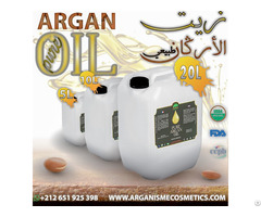 Huile D Argan Cosmétique En Vrac Achetée Du Maroc