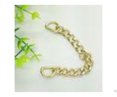 Handbag Hardware Purse Accessories Metal Chain With D Ring For Bags Handle