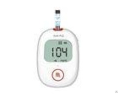 5s Test Time Home Glucose Meter Safe Aq Voice Wide Operation Temperature