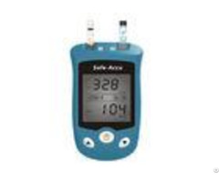 Safe Accu Ug Glucose Meters Monitors 20 600mg Dl Test Range 0 6ul Blood Sample