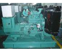 Super Silent Open Type Genset 200kva 160kw For Engine Room With Ventilation System