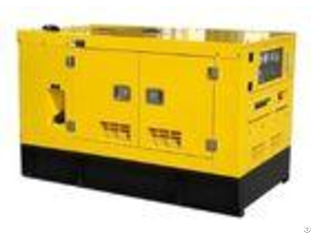 Yellow Color Water Cooled Diesel Generator 50kva Negotiated Outage Operation Capability