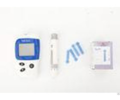 Fad Gdh Enzyme Home Glucose Meter Blood Monitoring System With Anti Interference Strip