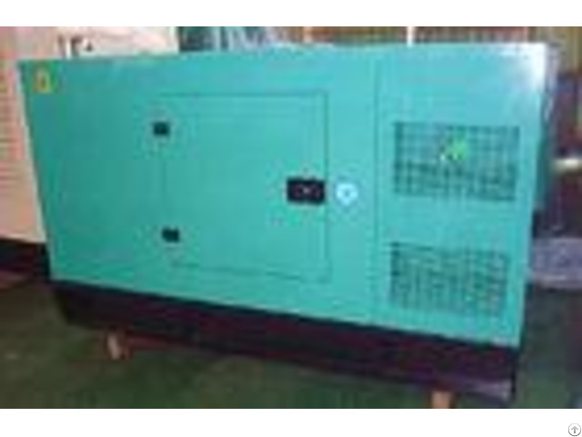 Canopy Type Diesel Generator Set 50hz 150kva Control System Water Cooling