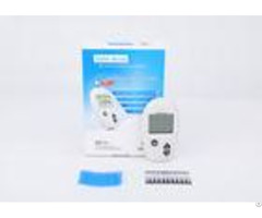 English Version Blood Glucose Meter Kit 10 Tests Trips Lancets 30 60% Hct