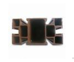Light Dark Bronze Aluminum T6 6061 Profiles For Double Side Hung Window Profile