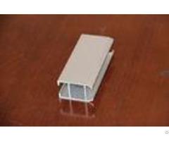 Structural Aluminum Door Extrusions Profiles Electrophoresis