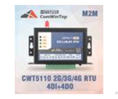 Cwt5110 Iot Gateway Device Gprs Rtu Controller With 4 Di 4do Agricultural