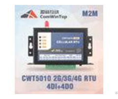 Cwt5010 Industrial Gsm Rtu Controller Sms Alarm With 4 Di And 4do