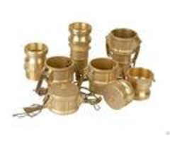 Camlock Hose Coupling Fittings Stainless Steel Aluminum Pp Nylon Brass Material