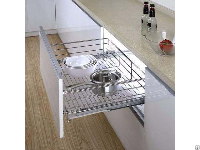 Three-lateral Kitchen Drawer Basket