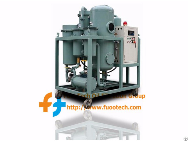 Series Fty Vacuum Turbine Lube Oil Filtration & Dehydration Machine
