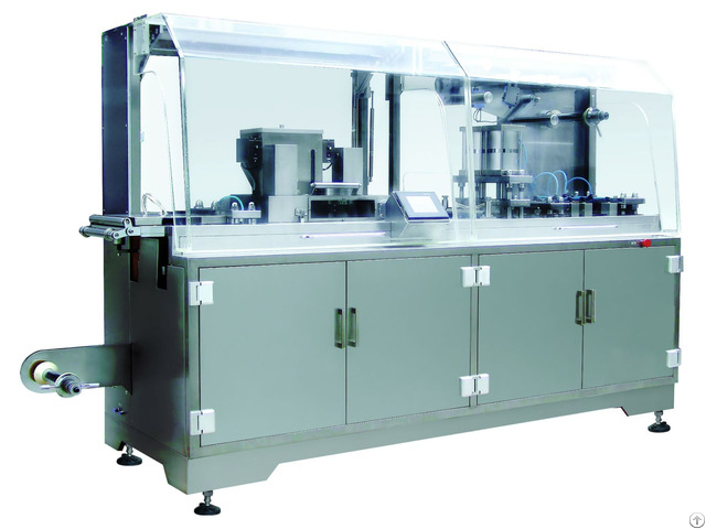 Dpp250g Plate Type Alu Pvc Blister Packaging Machine