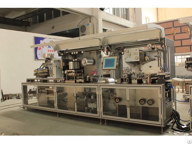 Dpp250k High Speed Plate Type Alu Pvc Blister Packaging Machine