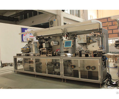 Dpp250k High Speed Plate Type Alu Pvc Blister Packaging Machine
