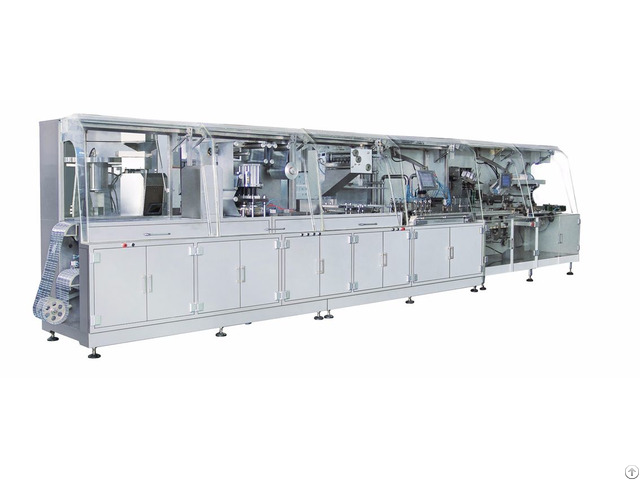 Dh120 Lntelligent High Speed Medicine Packaging Production Line