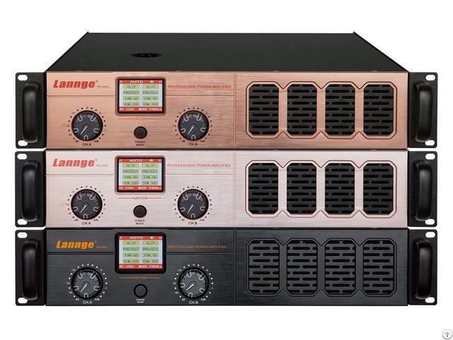 Pa 2500 2u Class Ab Professional Power Amplifier 2 500w At 8 Honm