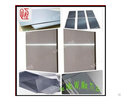 Different Dimensions W1 Tungsten Plate Sheet For Sale