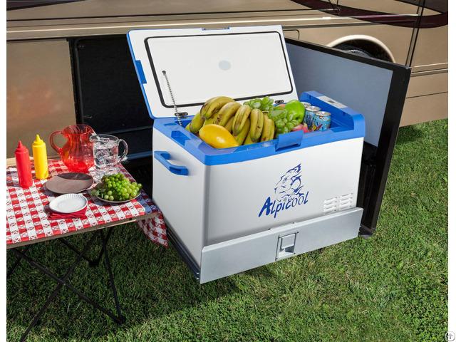 Compressor Portable Chest Refrigerator Freezer For Home And Car