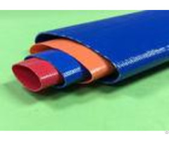 High Pressure Pvc Layflat Hose 8 Inch For Water Discharge Oem Odm Available
