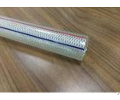 12mm Pvc Braided Hose Pipe 1 2 Inch Chemical Resistant For Conveying Liquids
