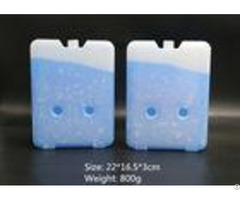 800g Durable Flat Gel Cooling Ice Cooler Brick For Refrigerator Truck
