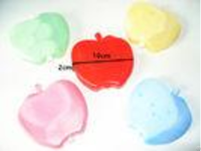 Custom Eco Friendly Colorful Ice Blocks For Cool Boxes 100ml Apple Shape