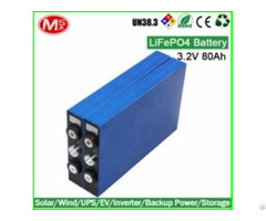 Solar Energy Storage Family Use Portable Power Station Rechargeable Lifepo4 Prismatic Battery